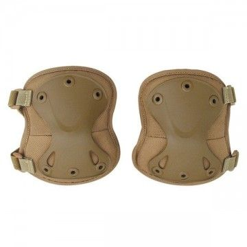 Pair of knee pads Airsoft of color as